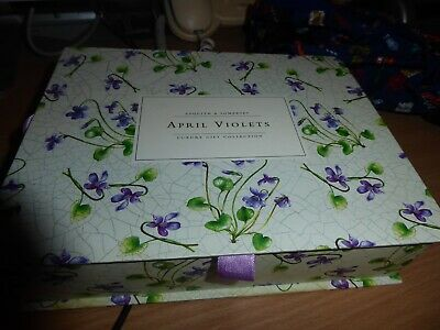 BNWT Asquith & Somerset April Violets large gift set