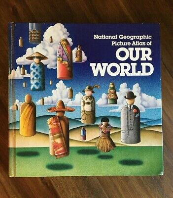 National Geographic Picture Atlas Of Our World (Hardcover, 1979)