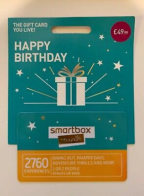 Smartbox Gift Voucher - Value: £49.99