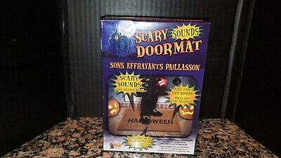 Halloween Scary Doormat With Sounds