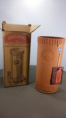 Blue Mountain Pottery Paysanne Wine Cooler w/tag and label