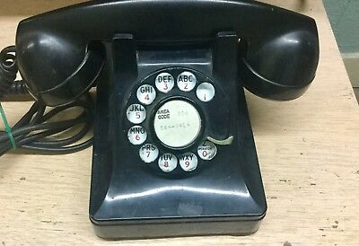 Vintage 1930's Bell Systems Western Electric Telephone F-1 Rotary Dial Untested