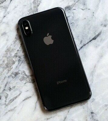 Apple iPhone X 256GB Smartphone - Space Grey (Unlocked) Superb Condition