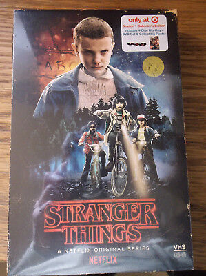 Stranger Things: Season 1 (Blu-Ray, DVD) New Target Exclusive Brand New Collecto