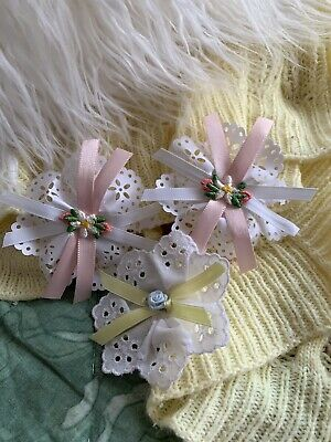 My Child Doll Replica Pink Flare Barrettes. Amazing Quality