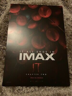 IT Chapter Two IMAX Promo Movie Poster