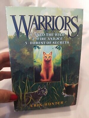 Warriors The Prophecies Begin books 1-3 Set Series Lot by Erin Hunter