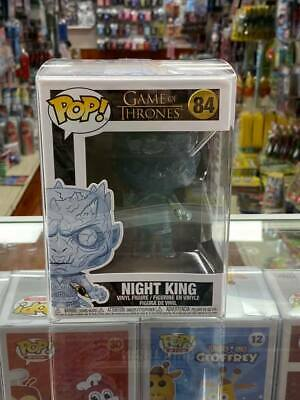 Funko POP! GAME OF THRONES NIGHT KING Vinyl Figure Collectible Toy #84 with case