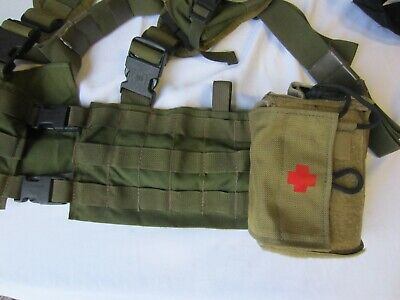 US Military Navy issue Tan IFAK First Aid Kit Pouch MOLLE