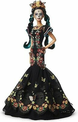 Barbie Dia De Los Muertos Doll 2019 Day Of The Dead - New In Hand Ships Now