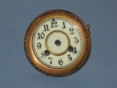 Antique Waterbury Mantle Clock Dial and Bezel