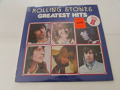 Sealed! THE ROLLING STONES GREATEST HITS VOL. II LP ABKCO CANADIAN PRESSING 1977
