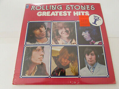 Sealed! THE ROLLING STONES GREATEST HITS VOL. I LP ABKCO CANADIAN PRESSING 1977