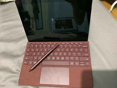 Microsoft Surface Go 128GB Wi-Fi 10in Silver with Burgendy Keyboard & Pen