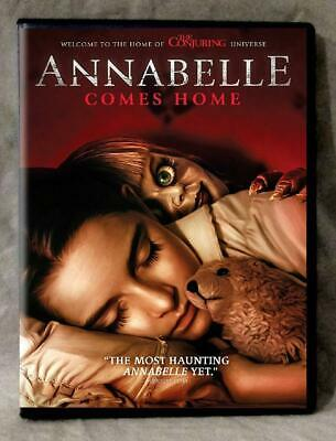Annabelle Comes Home (DVD 2019) New Release 10/8-Horror-Ships 1st Class Free!