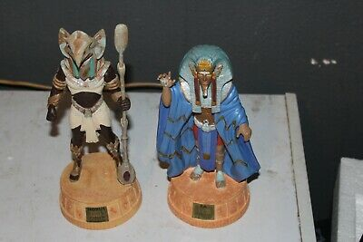 Stargate Horus & RA Statue Figures Applause New In Box 1994 Egyptian #'ed /5000
