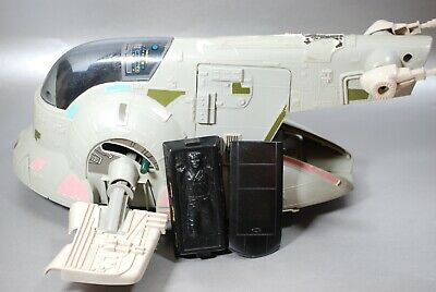 VINTAGE STAR WARS COMPLETE BOBA FETT SLAVE 1 VEHICLE KENNER one