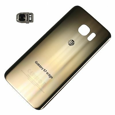 Battery Cover Back Door Glass For Samsung Galaxy S7 edge G935A AT&T Gold