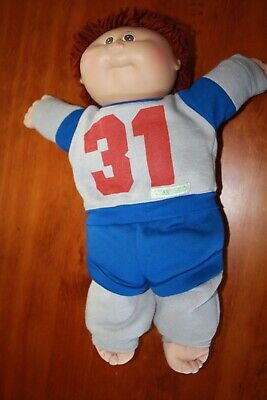 Cabbage Patch Kids - Vintage Boy in tracksuit