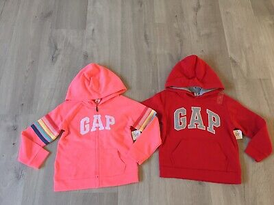 [BNWT] Bundle 2 x Gap Hoodie / Jumper Girl Size 5