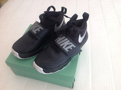 nike children's shoes black as new