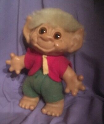 VINTAGE THOMAS DAM  TROLL, 1960s ALL OROGINAL,MADE IN  NEW ZEALAND