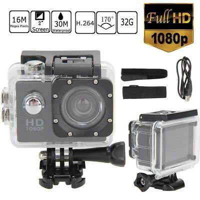 16MP 1080P WIFI Waterproof Sports Action Camera DV Recorder Camcorder Go Pro