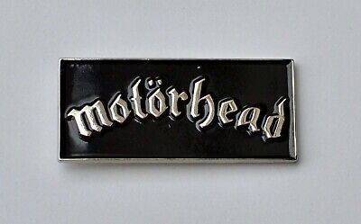 Motorhead Quality Enamel Lapel Pin Badge