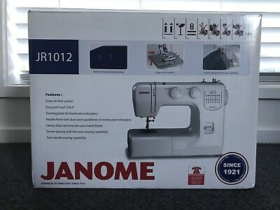 Janome JR1012 Sewing Machine - never used!