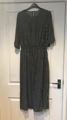 Brand New With Tags On Black & White Dress Size 8 From H&M