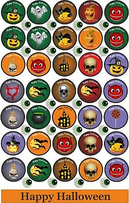 Halloween Stickers Gift party bag decorations scrapbook Trick or Treat 61 labels