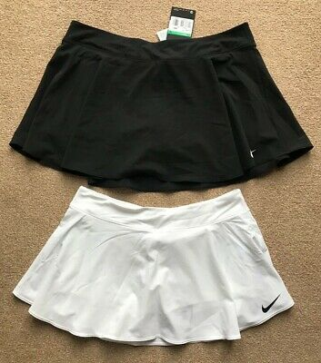 NIKE girls WHITE TENNIS skirt size M 10-12 yrs, L 12-13 yrs, XL 13-15 yrs BNWT