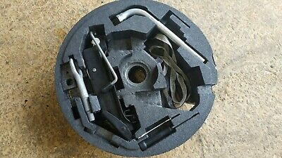 Vw Golf Mk5 Audi A3 Compartment Spare Wheel Tool Kit Jack Spanner Towing Eye