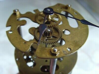 Swiss made mantel clock mechanical movement spares or repair