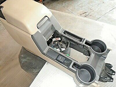 land rover discovery 3 centre console cubby box cream colour