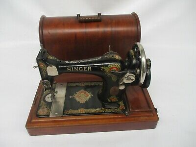 Singer 128 K  Hand Crank sewing machine F 9277909