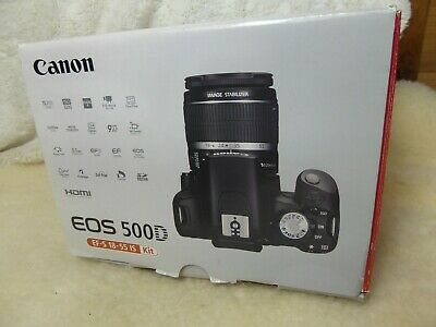 Canon EOS 500D Digital SLR Camera Body Only *BOXED* VERY GOOD CONDITION.
