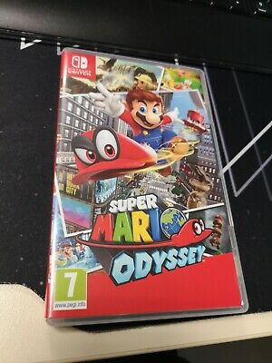 Super Mario Odyssey (Nintendo Switch, 2017) FR, COMME NEUF