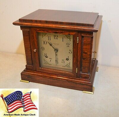 Restored Seth Thomas Antique First Issue 4 Bell Sonora Chime Clock #00 - 1911