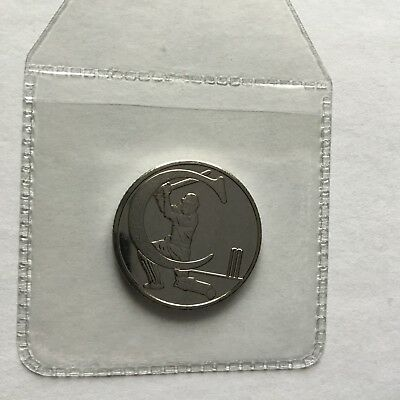 New A-Z Alphabet 10p Letter C Cricket Ten Pence Great British Coin Hunt  2018