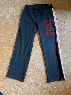Dolce and Gabanna Baby Boys Blue Tracksuit Bottoms Aged 6 Years