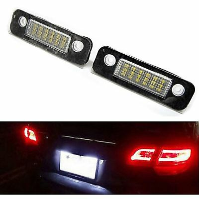 Eclairage Plaque Led Ford Fusion Ju 08/2002 A 12/2012 Blanc