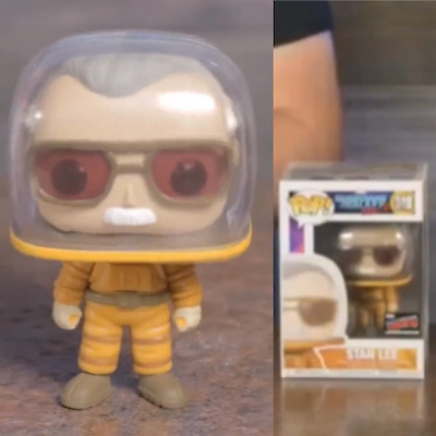 Funko Pop Astronaut Stan Lee 2019 NYCC Fall Shared Sticker Exclusive Preorder
