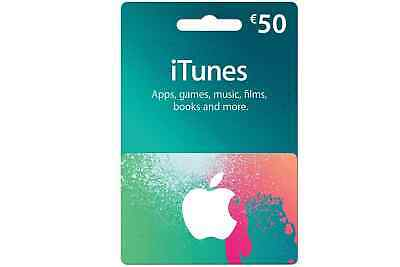 iTunes $50 Gift Card/Certificate US Store Worldwide FAST SHIPPING
