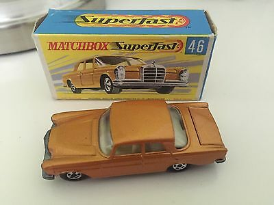 MATCHBOX Superfast Nr. 46 Mercedes 300 SE in Originaler Verpackung