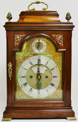 Quality Antique English 18thC Twin Fusee Bracket Clock Joseph Smith Of Bristol