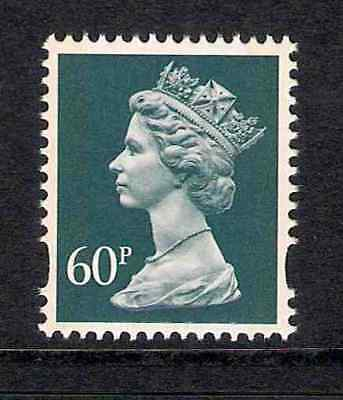 GB 1994 sg Y1784 60p Dull Blue Grey litho 2 bands booklet stamp MNH ex Y1758