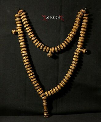 Outstanding Old Fine Chaplet - 99 beads - Tasbih - Morocco