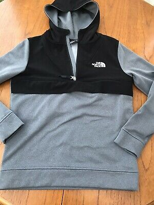 The North Face 1/4 Zip Top Hoodie Boys XL