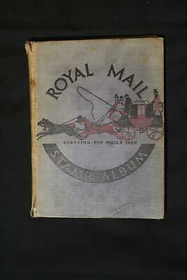 World Collection in Old Royal Mail Stamp Album